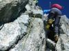 Kletterpassage
